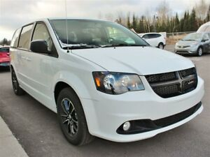 2017 Dodge Grand Caravan BLACKTOP  *GR REMORQUAGE* PROGRAMME 100