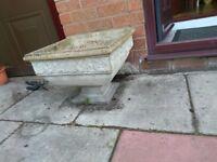 Concrete Planter and Trough