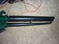 Qgarden leaf blower / vacuum