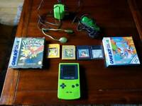 Game boy Colour bundle with games