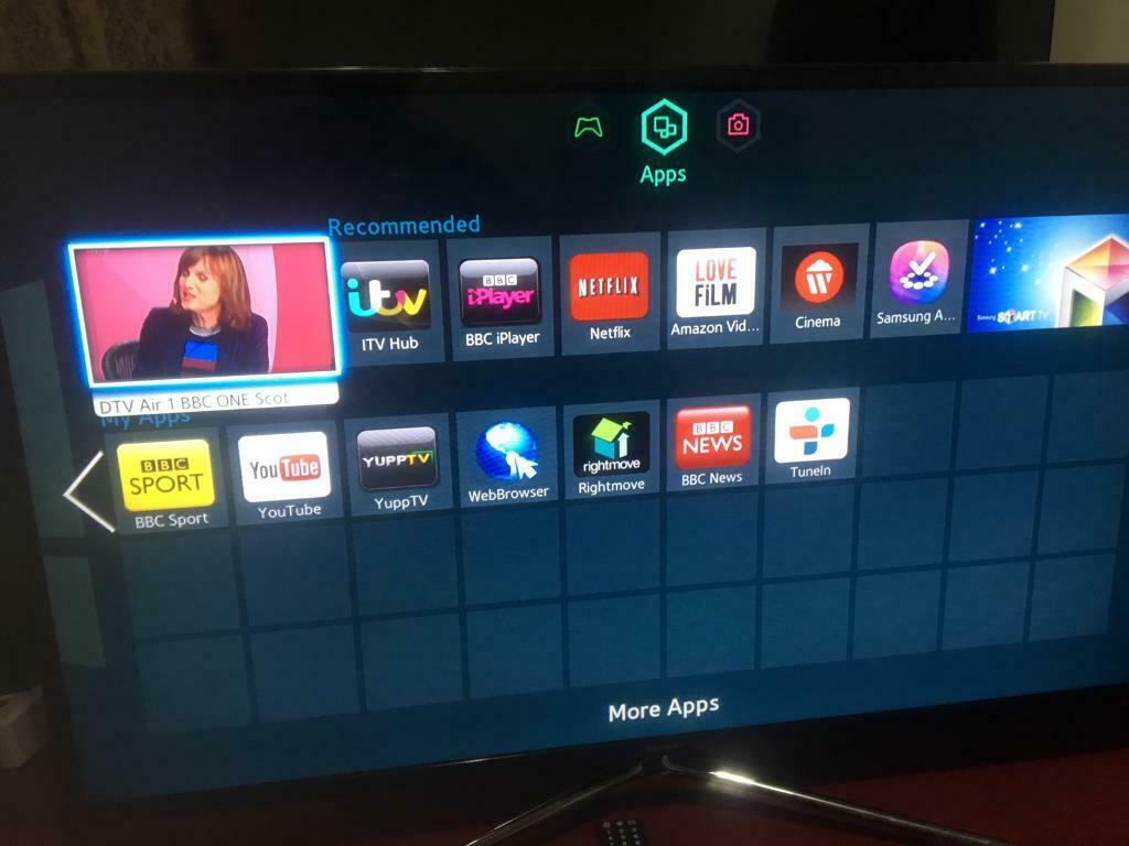 46INCHES SAMSUNG SMART TV WITH REMOTE IN PERFECT WORKING CONDITIONS | in  Springburn, Glasgow | Gumtree