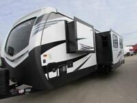 2019 KEYSTONE OUTBACK 335CG TOY HAULER American Caravan 5th Wheel Trailer RV