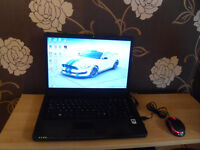 Laptop Advent K200, Windows7, 100GB HDD, 2GB RAM plus USB mouse