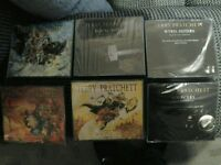 Discworld Audio Book Cds Mort, Lords and Ladies, Equal Rites, Sourcery, Wyrd Sisters, Soul Music