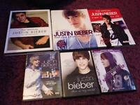 Justin bieber books and dvds
