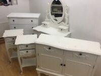 White Shabby chic/French furniture Vintage