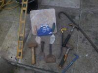 brick laying tools