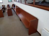 Mahogony Church Pews