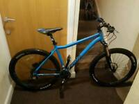 Voodoo Hoodoo mountain bike with hydraulic brakes air fork immaculate condition