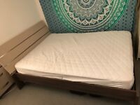 Lovely double bed with matching bedside cabinet