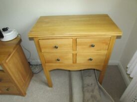 cario solid oak unit