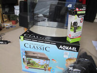 Aquael Classic 40 Bow Aquarium