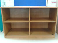 4 section storage unit (delivery available)