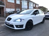 Seat Leon 1.9 fr replica white facelift glossblack roof alloys recent tyres drives superb hpi clear