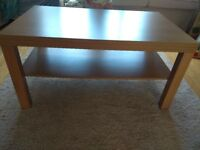 Great coffee table with shelf