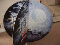 Star Wars Death Star - The Star Wars Trilogy promotional advertising circular display board