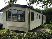 Deluxe 3 bedroom caravan
