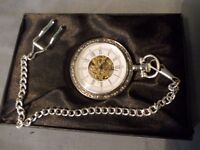 Sliver Palted Pocket Watch
