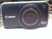CANON SX210IS CAMERA
