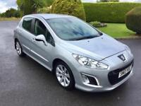 PEUGEOT 308 1.6 HDI, 2012, NEW MODEL, £30 A YEAR TAX **FINANCE THIS FROM £33 PER WEEK**