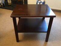 G Plan Retro/Vintage Occasional Table with Shelf - Mahogany Colour