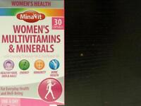 Multivitamins & Minerals for Women (MinaVit)