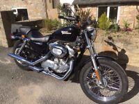 Harley Davidson 883cc Sportster