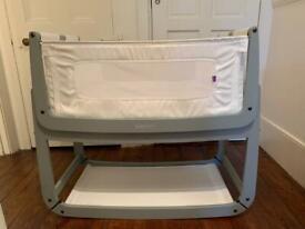 SnuzPod3 Bedside Crib Dove Grey