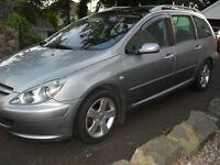 2004 Peugeot 307 estate