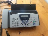 Brother telephone fax machine