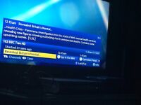 """SAMSUNG 40""""LCD TV VERY GOOD CONDITION WITH ORIGINAL BOX AND CURRY PC WORLD RECIPT 199£"""