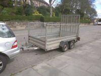 Indespension 10ft x 6ft caged trailer.