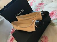 Chanel Ballerina Pumps - Size 4.5