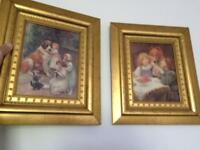 Pictures pair nice frames 12 inches by 13