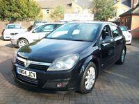 Vauxhall Astra 1.8 i 16v SRi 5dr 2004 (04 reg), Hatchback, BLACK, 5 DOOR, FULL MOT, BARGAIN