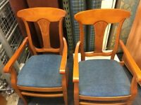 Carver chairs hand made in Spain