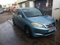 Very reliable 07 plate Honda frv 1.7 6 seater, new mot, low miles.