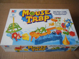 (MOUSE TRAP) board game from 1999. Contents in very good condition & complete.