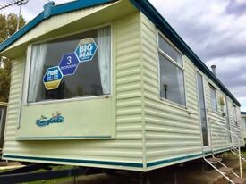 SALE - Static Caravan with no site fees to pay till 2019 - Situated in Essex - SALE