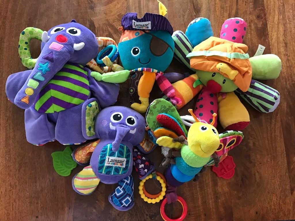 Bundle of Lamaze & ELC baby toys