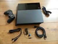 PS4 500GB standard edition + 5 games