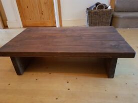 Solid wooden coffee table (as new!)