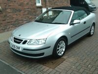 2006 06 SAAB 9-3 1.8T LINEAR CONVERTIBLE ** LOW MILEAGE ** 12 MONTH MOT ** CONVERTIBLE AYRSHIRE **