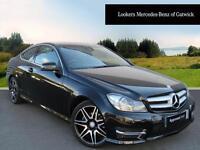 Mercedes-Benz C Class C220 CDI BLUEEFFICIENCY AMG SPORT PLUS (black) 2013-09-06