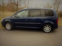 VW TOURAN TDI 2.0 SPORT 7 SEATER 2007 LOW MILES RELIABLE CAR