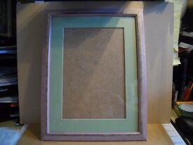 """Really Lovely Shiney Baby Pick Picture frame with mount insde 18"""" x 14"""""""