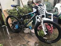 Boardman FS mountain bike