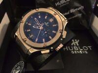New Swiss Hublot Big Bang Automatic Watch, RUBBER STRAP