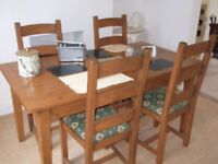 MultiYork Dining Table and Chairs