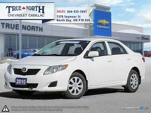 2010 Toyota Corolla CE FWD - ONLY 65,700KMS!!!